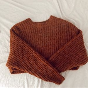 Knit Cropped Sweater